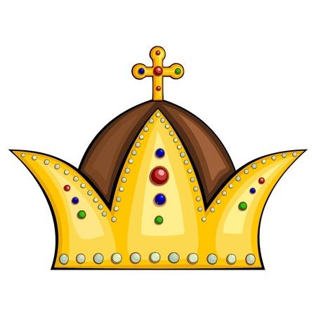 Royal crown Stock Vector - 13024389