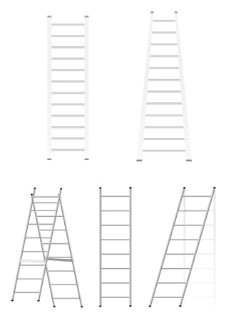 Set ladders. Vector Stock Vector - 13277621