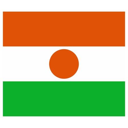 niger: Vector illustration of the flag of Niger