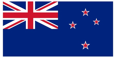 new zealand flag: Vector illustration of the flag of New Zealand   Illustration