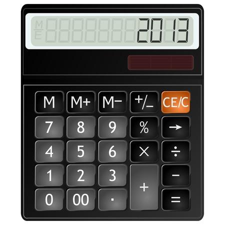 illustration of a calculator Stock Vector - 13414508