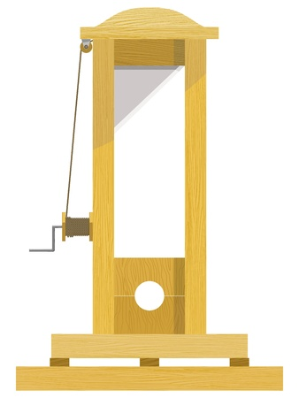 Guillotine. EPS10 Stock Vector - 13554343