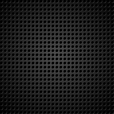 Vector illustration of a metallic background with holes Stock Vector - 13554341