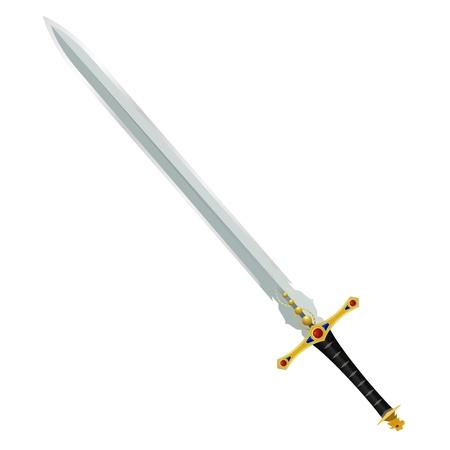 Darstellung eines alten Schwertes