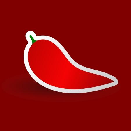 Red pepper  eps10 Stock Vector - 14314440