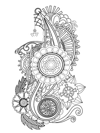 handmade Ukrainian ornament Vector