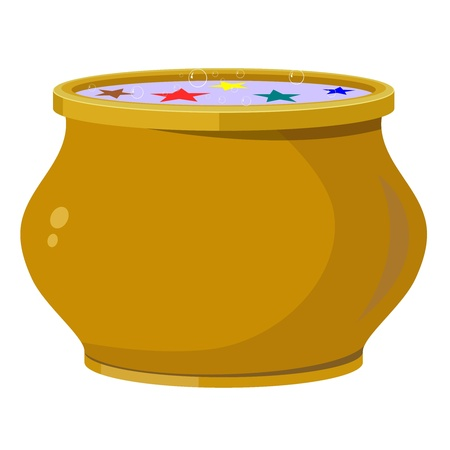 clay pot: Magic pot