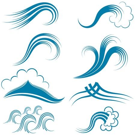 Set di simboli d'onda.