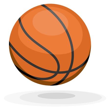 palla di fuoco: Cartoon basket. Vettoriali