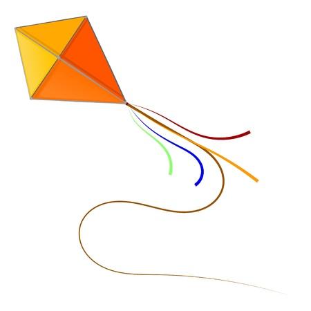 kite: Kite. eps10