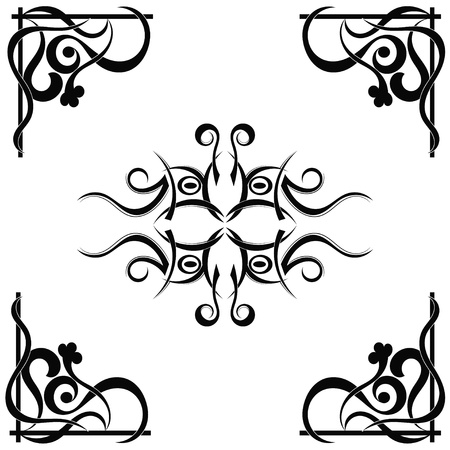 Tribal tattoo pattern Stock Vector - 17900161