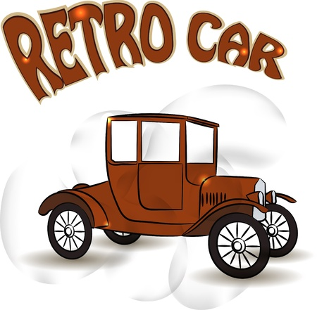 Vintage car Stock Vector - 17900183
