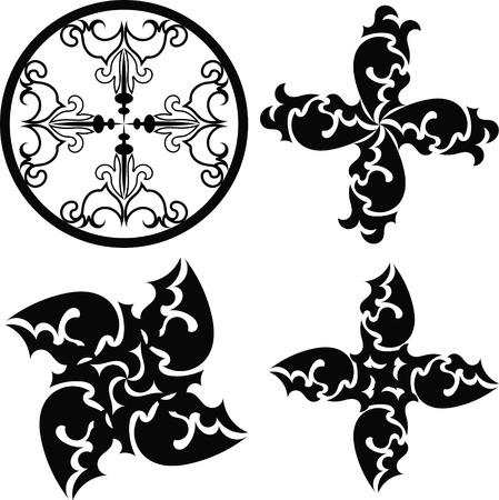 Tribal Tattoos Design Stock Vector - 18026532
