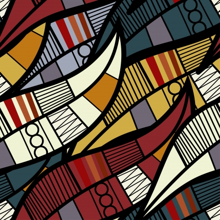 ilustraciones africanas: Textura transparente con elementos florales Vectores