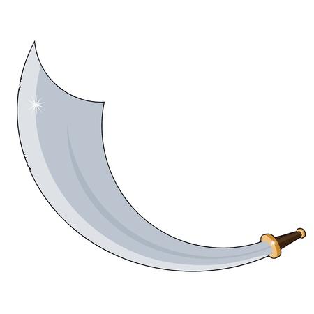 Pirate sword Stock Vector - 20594415