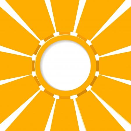 Abstract sun Stock Vector - 21588306