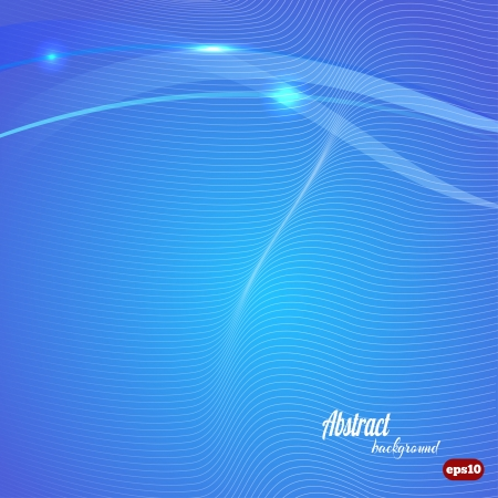 Abstract blue technical background  Vector