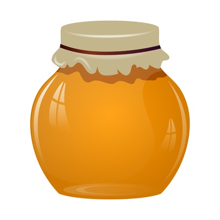 Jars of honey Stock Vector - 21687556
