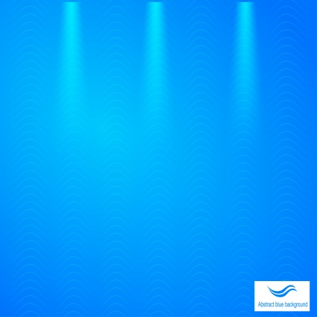 Abstract blue background with grid Stock Vector - 21771741