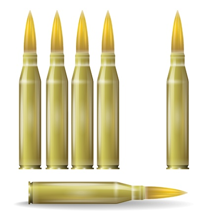 Set of automaton ammunition Vector