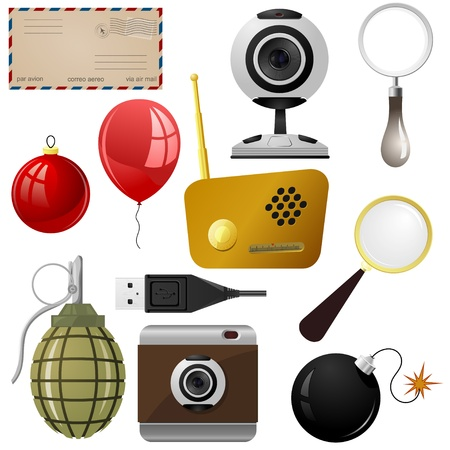 email bomb: Set of objects