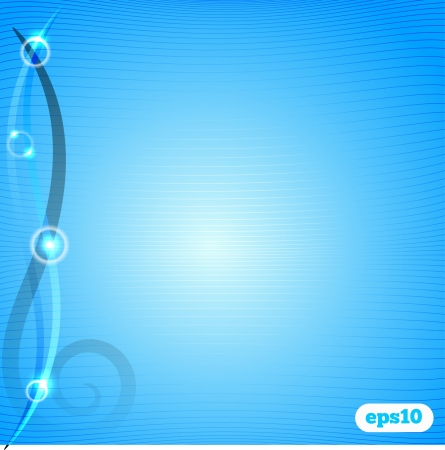luminosity: Abstract blue background with lines with luminosity and graphic elements Illustration