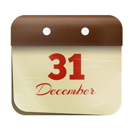 fiscal: Icon calendar Illustration