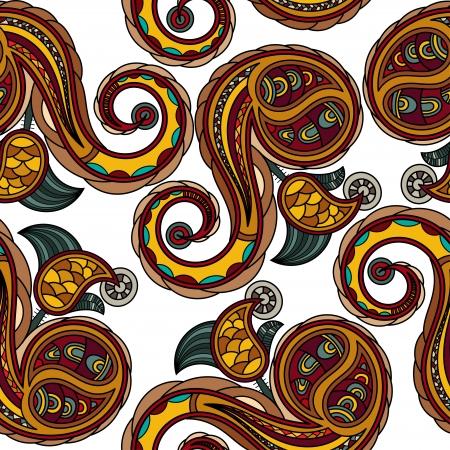 seamless texture: Nahtlose Textur mit Elementen ukrainischen nationalen Zeichnung