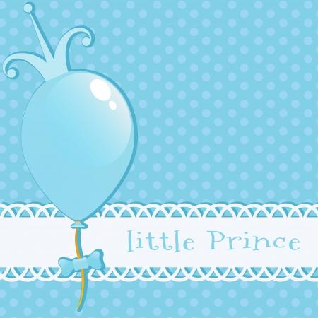 Background Little Prince 矢量图像