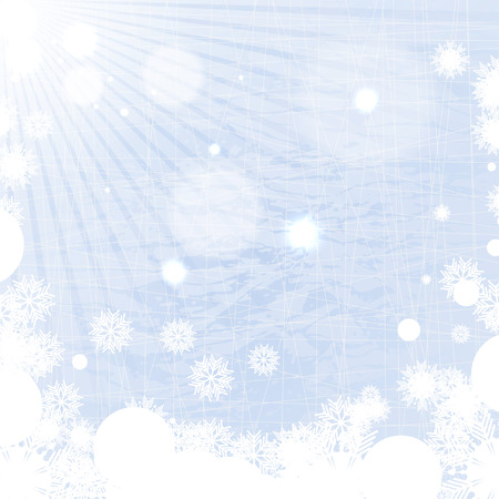 Winter background  Stock Vector - 24080220