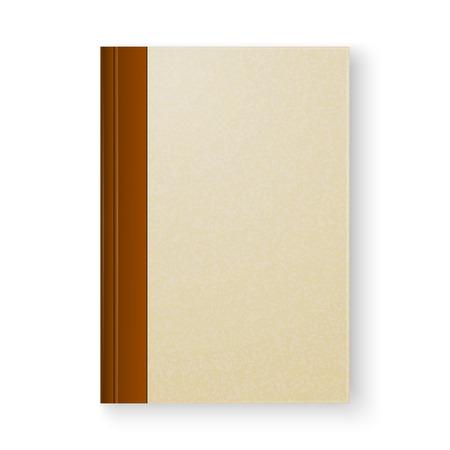 흰색 배경에 오래 된 책
