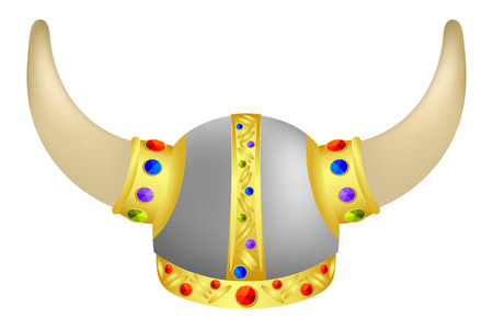 crusades: Viking Helm with gems