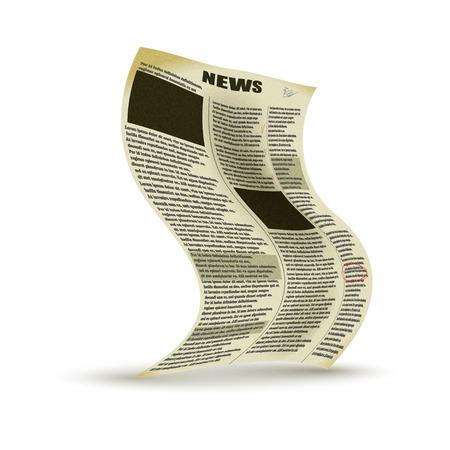 oude krant: Old newspaper