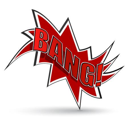 Comic book bang Stock Vector - 27573598