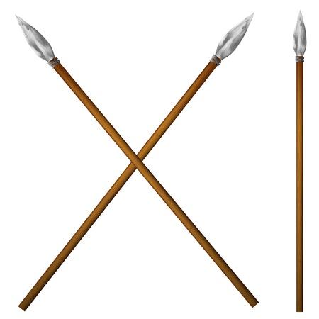 Spear primitive man