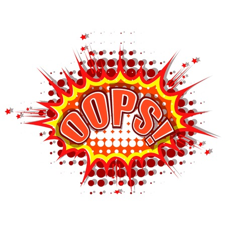 Cartoon oops Stock Vector - 27573773
