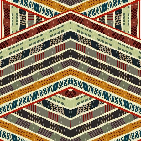 Ethnic seamless texture. Vector illustration