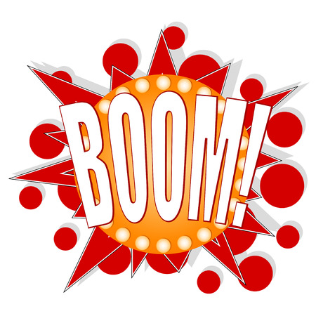 Cartoon BOOM Stock Vector - 29070178