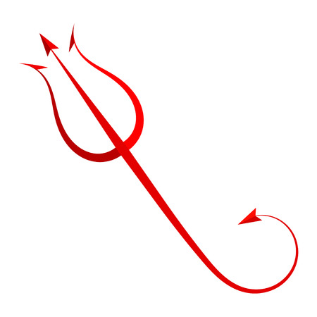 the tail: Red Trident diablo