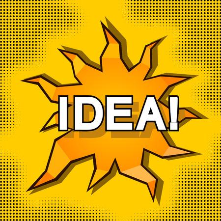Cartoon illustration of idea Stock Vector - 29069745