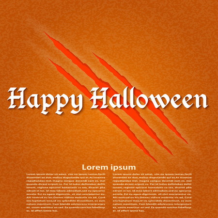 Wallpapers for the holiday Halloween. Vector illustration. Vector