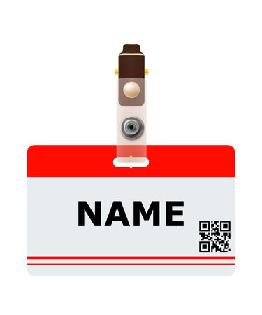 Business identification with QR code.