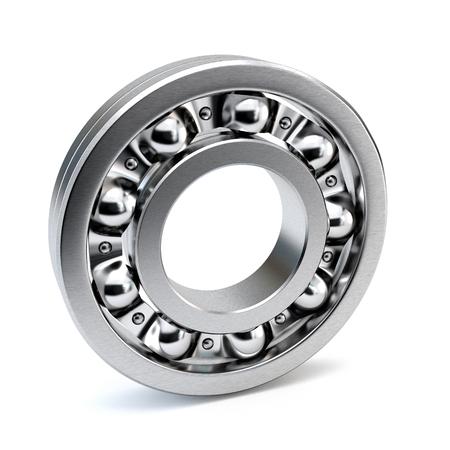 bearings: Bearings isolated on white background. 3d illustration.