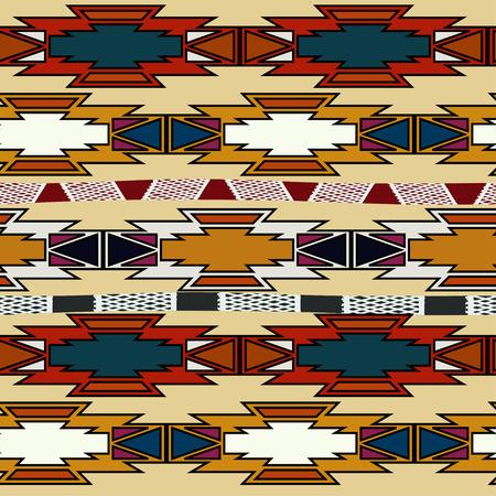 Abstracte Azteekse naadloos.