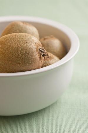Kiwis in a bowl Stock Photo - 10573408
