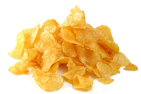 exemption: potato chips Stock Photo