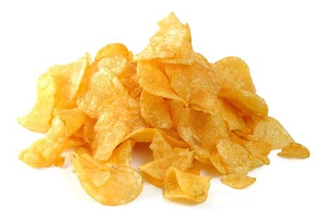 potato chips: potato chips Stock Photo