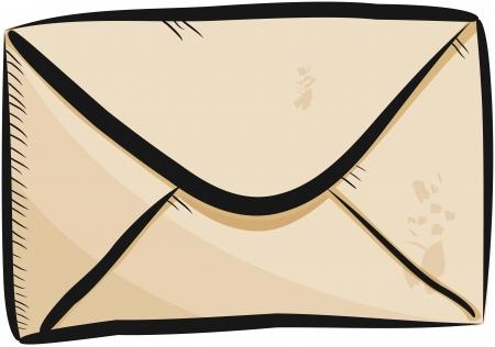 Sketch envelope Illustration