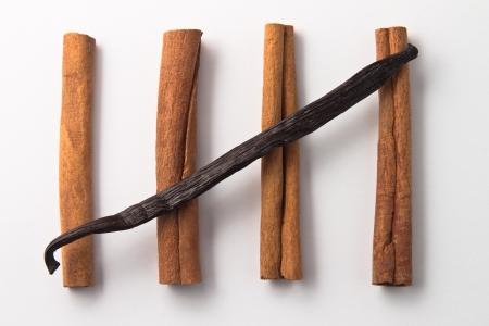 Cinnamon with vanilla