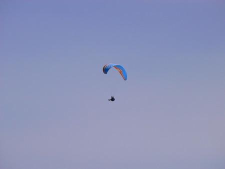 parapente: Paragliding - Parapente - Aile volante Stock Photo